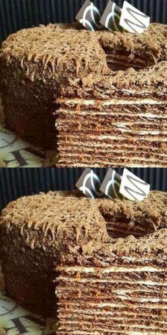 Easy Cake : Italian walnut cake just mixes with . Russian Recipes, Turkish Recipes, Italian Recipes, Tart Recipes, Cookie Recipes, Dessert Recipes, Russian Cakes, Italian Cake, Walnut Cake