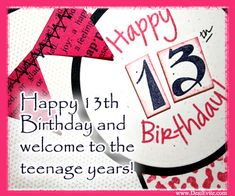 Pink themed 13th Birthday Party