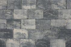Trommelsteen 20x30x6cm Grijs-zwart - Van den Broek Bestratingen