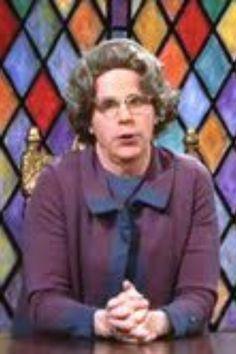 SNL Church lady!