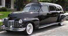 1947 Cadillac Miller Landau Hearse