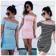 Vestidos Femininos Curto Modelo Acessorio Moda - R$ 39,99 em Mercado Livre