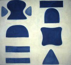 Berlin Blues 1, 1965, Oil on canvas, 160 x 173cm (63 x 68 in) William Scott
