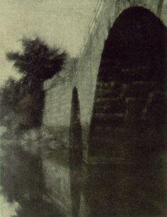 Alvin Langdon Coburn - The Bridge at Ipswich - 1904  (photogravure)