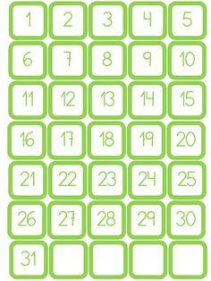Kindergarten Classroom, Classroom Themes, Classroom Organization, Calendar Numbers, Diy Calendar, All About Me Book, Mother's Day Printables, Classroom Calendar, Numbers For Kids