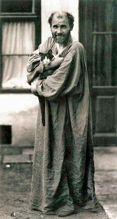 Gustav Klimt 1912 (my favorite photo of Klimt)