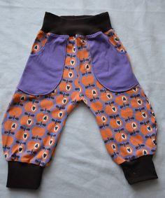Mädelshosen : Hose Frida Lila Äpfelchen Gr. 80 Gym Shorts Womens, Baby, Fashion, Lilac, Trousers, Gowns, Moda, Fashion Styles, Infants