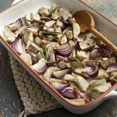 Recept - Geroosterde aardperen met rozemarijn - Allerhande