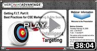 Getting F.I.T. in 2009: Best Practices for CSE Marketing & Site Search
