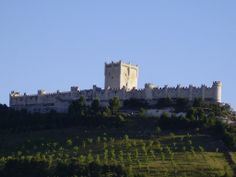 Castillo de Peñafiel. Spain