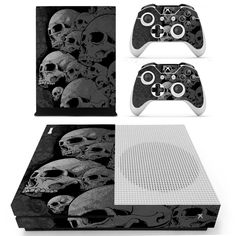 Nice Skulls Xbox One S 3 Sticker Console Decal Xbox One Controller Vinyl Skin Delicacies Loved By All Video Games & Consoles