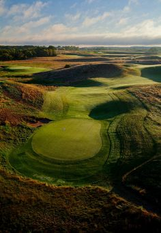 Erin Hills Golf Course: Golf Geeks. Site of the 2017 U.S. Open and rated as Golf Digest's Top 10 Public Courses in the U.S., this championship course was created in harmony with the land (rolling kettle moraines!). Skillfully plan each stroke, there are more wetlands than one would expect! visitwaukesha.org