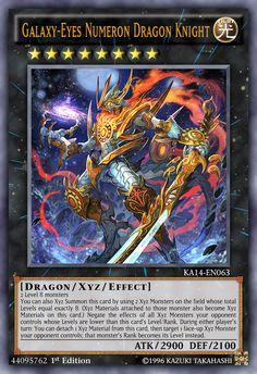 Galaxy-Eyes Numeron Dragon Knight by on DeviantArt Yugioh Dragon Cards, Yugioh Dragons, Custom Yugioh Cards, Custom Cards, Yu Gi Oh, Pokemon Card Memes, Yugioh Decks, Dragon Ball, Yugioh Monsters