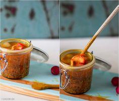 Fabulosos pickles com caril e mostarda