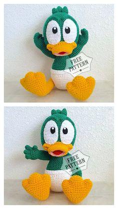 Crochet Baby Toys, Crochet Teddy, Crochet Bear, Cute Crochet, Crochet Dinosaur, Crochet Birds, Crochet Animals, Crochet Amigurumi Free Patterns, Crochet Animal Patterns