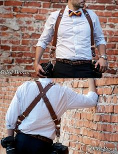 Not my style but awesome camera gear regardless. MoneyMaker camera harness. $250.00. http://holdfastgear.com/?products/money-maker.html