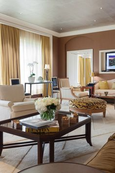 The Presidential Suite has a spacious balcony with awesome views of Boston's Public Garden. #Jetsetter Four Season Hotel Boston