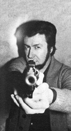 Jacques Mesrine - infamous French gangster known for clever bank robberies and daring prison breaks.   Played by Vincent Cassell in Public Enemy No 1. ( L'ennemi public n°1 in French)