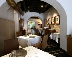 Il Pagliaccio, one of the best restaurant in Rome, only for connoissuers.