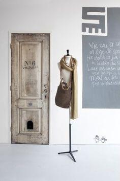 puerta, maniqui