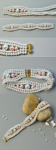 Like the elegant pearl beads b
