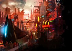 Welcome to the future by ~matty17art on deviantART