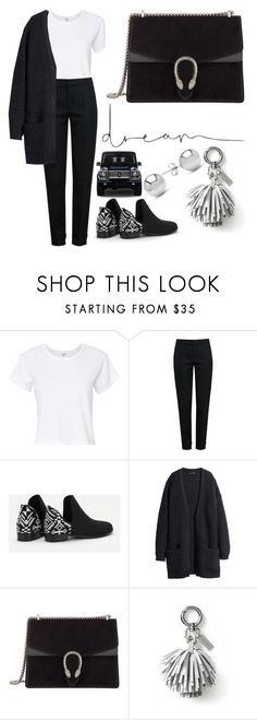 """""""Untitled #5398"""" by tatyanaoliveiratatiana ❤ liked on Polyvore featuring RE/DONE, Chloé, Gucci, Banana Republic, Mercedes-Benz and Jewelonfire"""