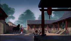 108 Of The Most Beautiful Shots In Disney Movie History ~ Mulan