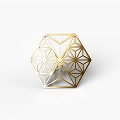 KUMIKO COLLECTION _ HEXAGON RING  PRODUCTION METHOD ・Designed using algorithms ・Manufactured by combining the highest quality 3D printer and casting technology 3d Printer, Artworks, Candle Holders, Decorative Boxes, It Cast, Technology, Shapes, Rings, Collection