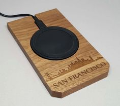 Wireless Charger San Francisco by SattarLabs on Etsy