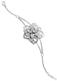 Mathon Paris: Bracelet Jasmin, White gold, Diamonds