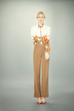 This blouse is worth to die for...I think I have a crush on Erdem   [Erdem Pre-Fall 2012]