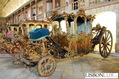 Coches Museum -Lisbon, Portugal
