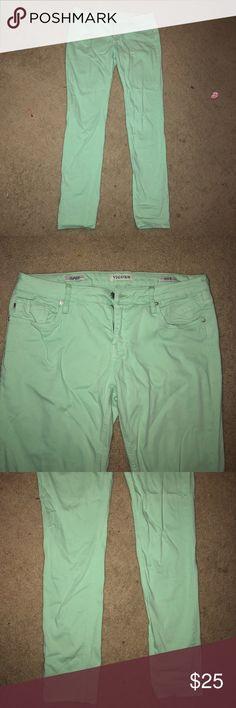 Vigoss mint colored jeans Vigoss mint colored jeans Vigoss Jeans Skinny