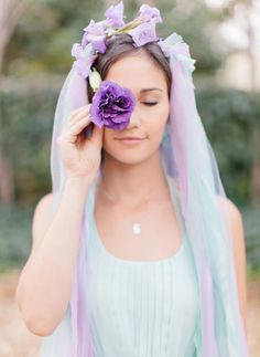 Lovely pastel crown!