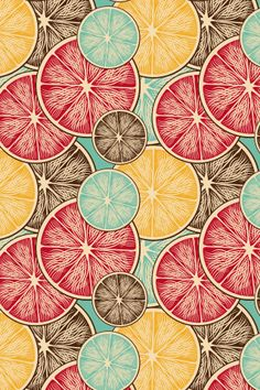 This is a good example of unity because the fruits work together because they have the same pattern on them. It is also visually comfortable because they are all circles and follow the same color scheme.