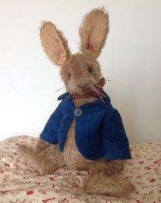 Bears Canada Artist Ooak Bunny Rabbit Handmade 23 Inch Rare