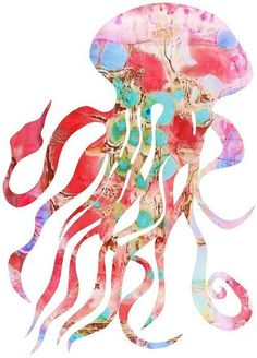 Jelly fish art.