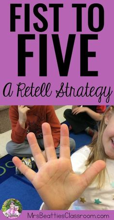 Teach this retelling strategy to your students for a complete retell every time! Using this retell activity and retell anchor chart, your primary students will share a complete account of their fiction text. When an oral retell has been mastered, move on Retelling Activities, Comprehension Activities, Reading Strategies, Reading Comprehension, Reading Groups, Summarizing Activities, Speech Activities, Reading Resources, Teaching Reading