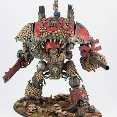 Warhammer 40k   Imperial Knights   Corrupted Chaos Imperial Knight #warhammer…