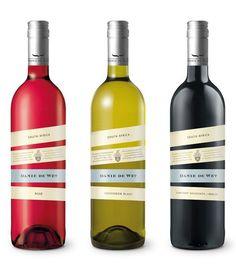 colorful label designs on bottles