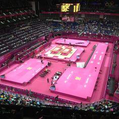 North Greenwitch Arena van binnen! #os2012