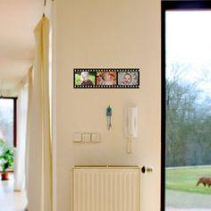 Kinofilm okénka na fotky - / Zboží prodejce FUGU - Design Wall Stickers, Gallery Wall, Mirror, Frame, Furniture, Design, Home Decor, Wall Clings, Picture Frame