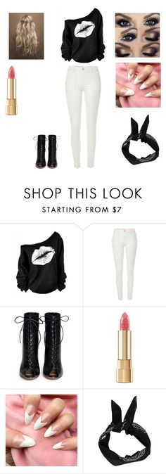 """To school wear#1"" by haileythomas-1 on Polyvore featuring River Island, Gianvito Rossi, Dolce&Gabbana and Boohoo"