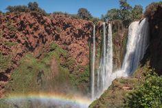 Hoy en el #blog te llevamos de #roadtrip por #marruecos. Desde Fez a Marrakech pasando por estas #cascadas de #Ouzoud y el desierto. 7 dias maravillosos en #Morroco