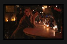 Casey Baugh's Photorealistic Portraits Conjure City Nights and Untold Stories