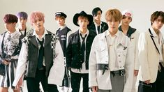 The K-pop stars of NCT may have limitless fashion potential.
