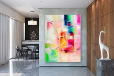 Large Abstract Painting,Large Abstract Painting on Canvas,texture painting,original abstract,unique bedroom decor FY0044