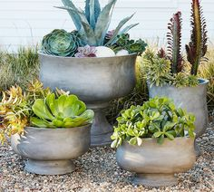 Artisanal Planters by Pottery Barn 32 Stylish Outdoor Planters to Perk Up Your Garden or Patio Photos   Architectural Digest