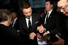 Jeremy Renner Photos - World Premiere of Marvel's 'Avengers: Age Of Ultron' - Red Carpet - Zimbio